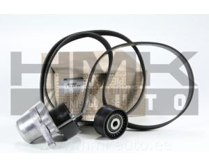 Alternator belt kit Renault 2,0DCi (with AC)