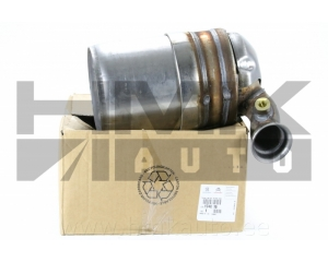 Diesel particulate filter Citroen/Peugeot 1,6HDi DV6TED4