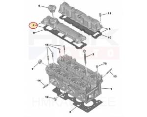 Klapikambrikaas Citroen/Peugeot 1,4 16V ET3J4