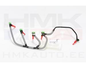 Injection return hose Citroen/Peugeot 2,0HDI DW10FD