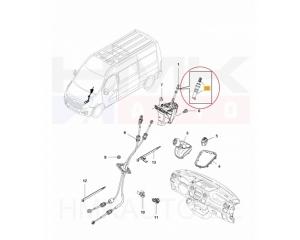 Tagurduskäigu nupp Renault Master 2010- FWD
