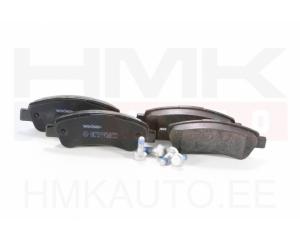 Piduriklotsid tagum. Jumper/Boxer/Ducato 2006-