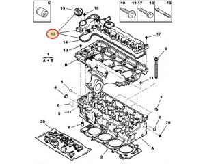 Klapikambrikaas Citroen/Peugeot 2,0HDI/2,2HDI