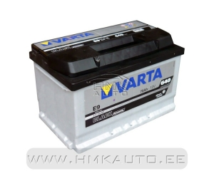 "Battery ""Varta Black Dynamic"""
