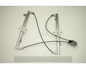 Klaasitõstuki mehhanism vasakule esiuksele manuaalne Partner/Berlingo