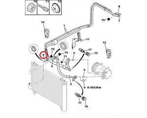 A/C toru tihend Citroen/Peugeot