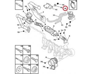 EGR magnetklapp Citroen/peugeot HDI