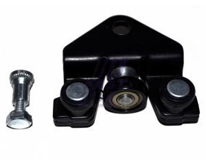 Külgukse alumine tugi rullidega parem Renault Trafic II/Opel Vivaro
