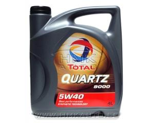 Engine oil TOTAL Quartz 9000 5W40 5L