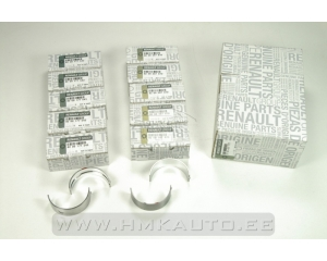 Crankshaft main bearing set OEM Renault 2,2/2,5DCI
