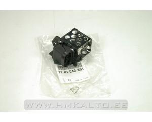 Cooling fan resistor Renault Clio III/Laguna II/Trafic II