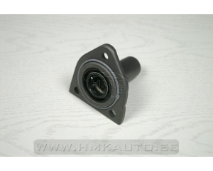 Clutch release bearing guide with seal