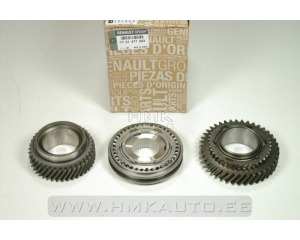 Synchronizer with gears (3-4th gear) Renault PF6