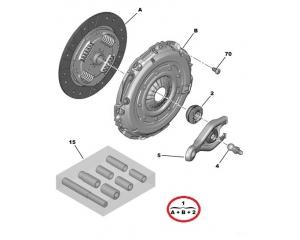 Clutch kit Jumpy/Expert/Scudo 2,0HDI Euro5