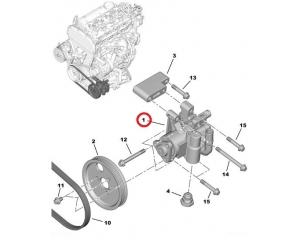 Roolivõimendi pump OEM Jumper/Boxer/Ducato 2,2HDI 2006-