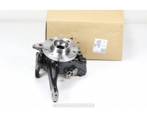 Steering knuckle left OEM Citroen C5/C6, Peugeot 407 with bearing, hub and ball joint