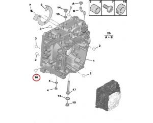Прокладка КПП AL4