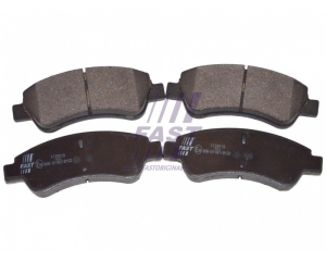 Brake pad set Citroen Berlingo/C2/C4, Peugeot Partner