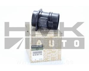 Расходомер воздуха Dacia/Renault/Opel/Mercedes 1,5DCI-2,0dCi