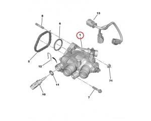 Термостат с корпусом PSA EP6C