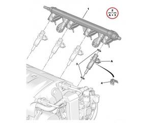 Injector Peugeot/Citroen 1,4/1,6