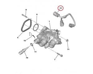 Провод термостата PSA EP6-мотор