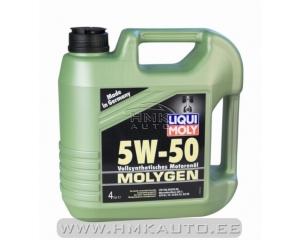 Моторное масло MOLYGEN 5W50 4L