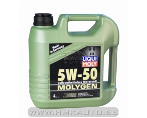 MOLYGEN 5W50 täissünteetiline mootoriõli 4L