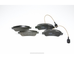 Brake pads rear with sensor Jumper/Boxer/Ducato 2006-