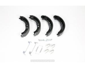 Комплект колодок ручного тормоза + комплект креплений Jumper/Boxer/Ducato 2006-