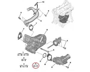 EGR klapi tihend Citroen Nemo/Peugeot Bipper 1,3HDI