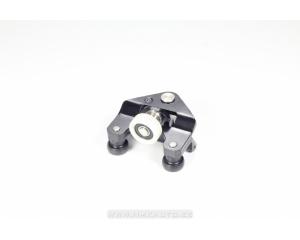 Опора боковой правой сдвижной двери нижний с роликами Renault Master/Opel Movano 2010-