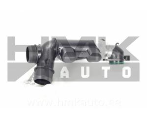 Turbo õhutoru (resonaator) Citroen C5 (X7) Peugeot 407