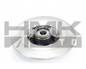 Brake disc rear Renault Laguna III