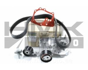 Hammasrihma komplekt koos veepumbaga OEM Renault 1,6 16V K4M