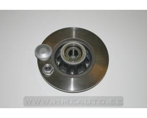 Brake disc rear with bearing Renault Trafic/Opel Vivaro