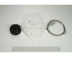 Window regulator repair kit font right Dacia Logan