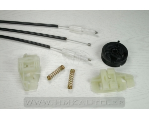 Window regulator repair kit front left Renault Megane II