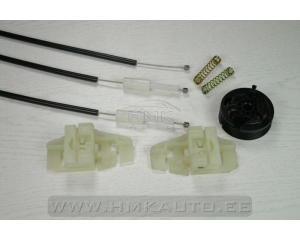 Window regulator repair kit front right Renault Megane II