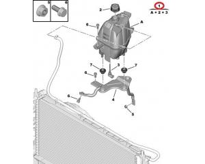 Expansion tank Jumper/Boxer/Ducato 2006-