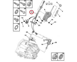 Трос КПП OEM Citroen Jumper/Peugeot Boxer/Fiat Ducato 3,0HDI 2006-
