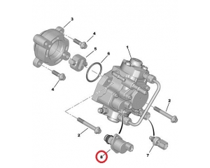Fuel pressure regulator Jumper/Boxer/Ducato/Transit 2,2HDI