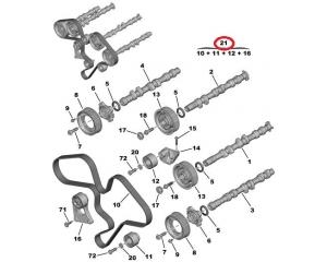 Timing belt kit Citroen/Peugeot 3,0 V6