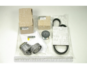 Alternator belt kit with alternator clutch pulley Renault Trafic II/Opel Vivaro/Nissan Primastar 1,9DCI