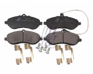 Brake pad set front Jumpy/Expert/Scudo 07-