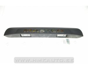 Numbritulede katteliist koos tuledega Renault Master 2,3DCI 2010-