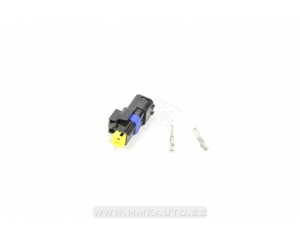 Number plate light plug Citroen/Peugeot