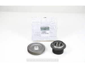 Gear wheel pair, sixth gear 28 teeth Renault PF6 gearbox