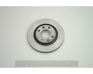 Тормозной диск передний Citroen Berlingo/Xsara/C3/C4/C5, Peugeot Partner/206/207/307