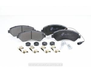 """Тормозные колодки передние Jumper/Boxer/Ducato 2006- 16""""колесо"""